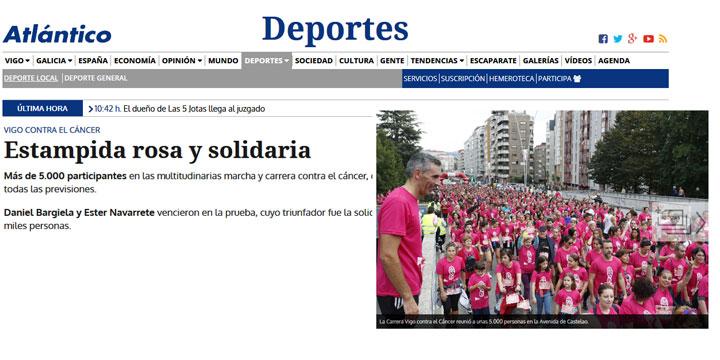 Estampida rosa y solidaria